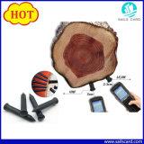 125kHz Tk4100受動RFIDの木の釘の札か木識別RFID札