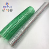 Manguito de la descarga del agua del alambre de acero del PVC
