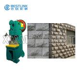 جدار حجارة ينقسم وجه فطر حجارة يكسر آلة