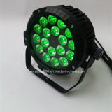 18PCS X10W RGBW IP65 RGBW Wriess LED 동위 빛 옥외 빛