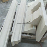 ポルトガルの石灰岩のタイルおよびステップのためのベージュ木またはMacaのクリーム色の平板