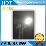 20With30With40With50With60With70With80W屋外ランプによって半分けられる統合されたLEDの太陽庭の街灯