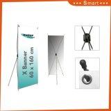 Дешевые складные рекламных плакатов печати дисплея регулируемая подставка для баннера X