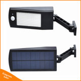 新しい到着4つのモードの調節可能なLED太陽PIRの動きセンサーの庭の街灯