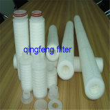Pp ont plissé la cartouche filtrante pour la filtration de l'eau