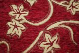 Rotes Chenille-Jacquardwebstuhl-Muster-Polsterung-Gewebe