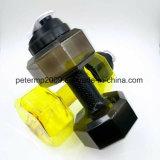 Новая конструкция гантели фитнес-чайник спорта пластиковую бутылку воды