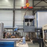 Clc Block, der Maschinen-/Schaumgummi-Betonstein-trockene Ausschnitt-Maschine herstellt