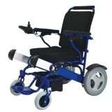 Безщеточная кресло-коляска батареи лития мотора 250W управляемая электрическая для с ограниченными возможностями