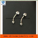 Doordringende Navel van het Lichaam van het Titanium van het Lichaam van de Juwelen van Shineme de Doordringende (NVL001)