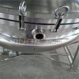 高圧蒸気調理のミキサーを傾けること