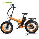Pneu de gordura 250W 750W dobrável de Bicicletas eléctricas