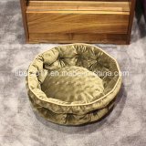 円形ペットベッドの飼い犬の供給の犬小屋ペットおもちゃペットアクセサリ小さい犬のベッド