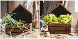 Деревянный цветочный горшок плантатора для домашнего украшения
