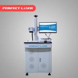 máquina da marcação do laser da fibra de 30W 50W para a gravura que corta o ouro da grama de prata