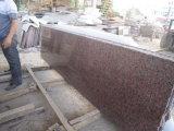 El arce de losas de granito rojo&Mosaicos pisos de granito&Albañilería