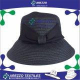 Sombrero de paja de señora Bucket Paper (AZ013B)