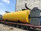 @Oil de la caldera/del generador de vapor (gas) encendido