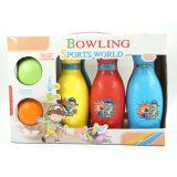 Спорт игрушка разноцветных пластмассовых боулинг мяч для детей