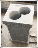 墓地の着席の角度の彫刻の彫像用のOssuaryのための自然な花こう岩