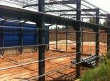 Estructura de acero ligero de la construcción de almacenes prefabricados