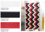 """4 Tegel van de Metro van de Schuine rand van """" X12 """" /10X30cm de Rode Glanzende voor de Decoratie van de Badkamers & van de Keuken"""