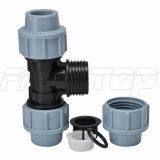 PP/PE de Montage van de compressie voor Irrigatie met Pn16