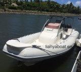 Liya 8.3m Hypalon costilla botes pequeños para la venta de yates