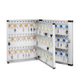 120 de aluminio de almacenamiento de claves con el cuadro Tecla de bloqueo de seguridad