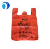 100%Biodegradable и Compostable мешки тенниски/полиэтиленовый пакет PE несущей тельняшки