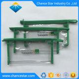 Kundenspezifisches Firmenzeichen gedruckter Segeltuch-Reißverschluss Plastik-Belüftung-Beutel