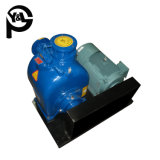 Электродвигатель горизонтальный центробежный насос со стороны всасывания сточных вод