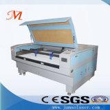 Machine de découpage tissée d'étiquette avec le positionnement de l'appareil-photo (JM-1810T-CCD)