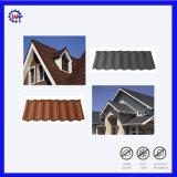 Telhas de telhado revestidas de pedra onduladas personalizadas da ligação da folha de metal