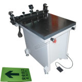 Печатная машина экрана TM-6080s ручная стеклянная плоская
