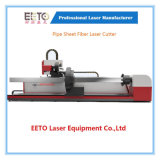 Hohe Präzision Laser-des Scherblockes der Faser-1000W für Rohr-Blatt-Ausschnitt