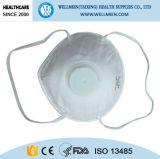 Ohr-Schleife N95 nichtgewebte Atemschutzmaske mit Ventil
