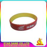 Beau Micro-injection d'huile Fashion Bracelet en silicone avec logo personnalisé