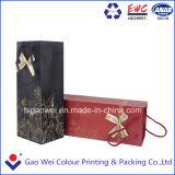 Version imprimable de luxe sac de papier couché pour l'emballage Boîte de vin