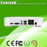 Ponto de entrada superior NVR do gravador de vídeo da rede 1080P (NVRPGH498POE)