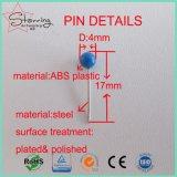 صنّف شحن حرّة [417مّ] لون [أبس] بلاستيكيّة كرة رأس فولاذ خريطة دفع [بين] لأنّ التصاق