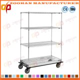 Unidade do Shelving do fio de Home Depot do cromo de Adujustable (Zhw17)