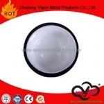 Piatto bianco dello smalto di colore di alta qualità calda di vendita di OEM&ODM