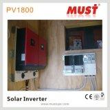 태양계가 4000W 최고 잡종 태양 변환장치에 의하여 4kw 집으로 돌아온다
