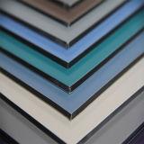 Los paneles de aluminio compuestos para la decoración de la pared de cortina
