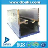 Profil en aluminium argenté de Matt de fini de moulin pour la porte de guichet du Ghana