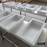 Parte superiore degli alimenti a rapida preparazione della stanza da bagno della pietra del quarzo di Kkr contro