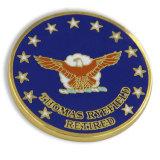 退職させた各国用のGeospatial知性代理店の堅いエナメルの挑戦硬貨