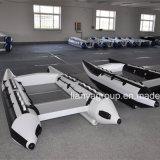 Liya 3.3m 4.3m China aufblasbarer Hochgeschwindigkeitsboots-Katamaran-Verkauf