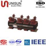 Transformator de in drie stadia van het Voltage